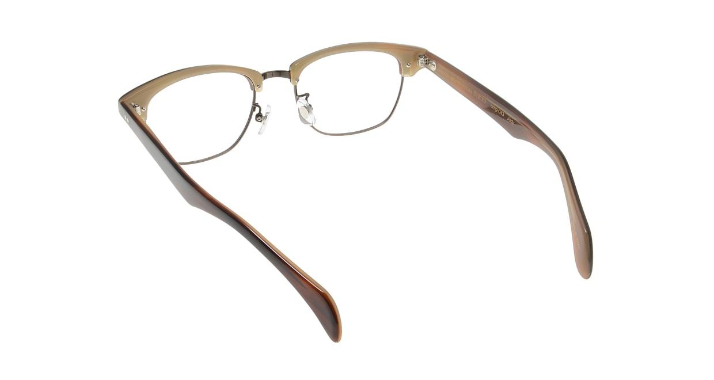 Oh My Glasses TOKYO Jodie omg-043 9-50 [鯖江産/ウェリントン/茶色]  2