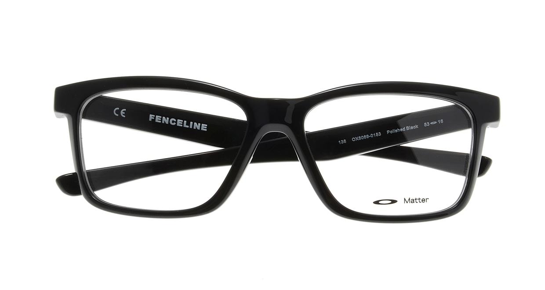 オークリー FENCELINE OX8069-0153 [黒縁/ウェリントン]  3