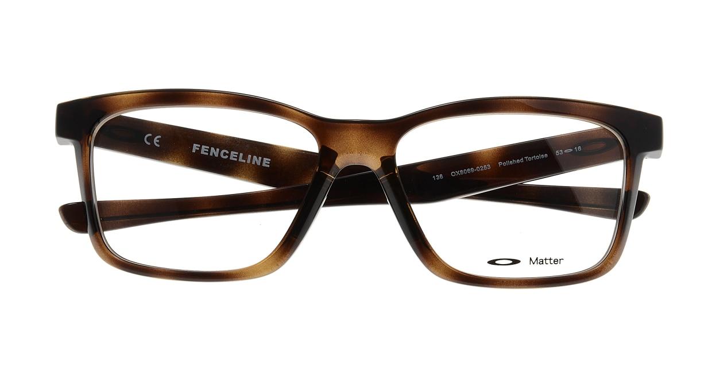 オークリー FENCELINE OX8069-0253 [ウェリントン/茶色]  3