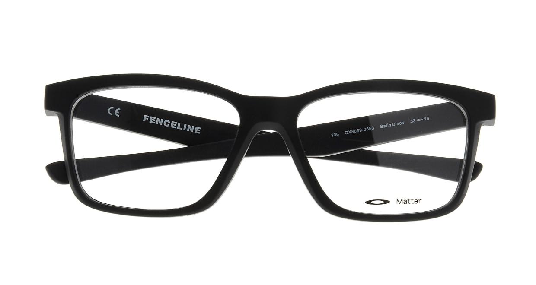 オークリー FENCELINE OX8069-0653 [黒縁/ウェリントン]  3