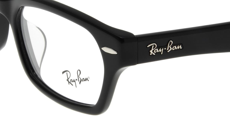 レイバン RX5344D-2000-55 [黒縁/スクエア]  4
