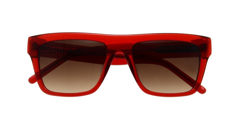 マーシャルアイウェア Johnny-Large-Red Transparent MA0037-117000-310 [スクエア]  3