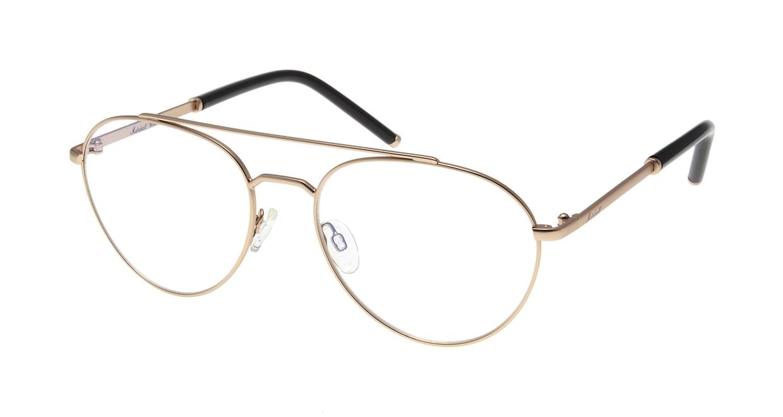 マーシャルアイウェア Mick-Large Opt-Gold MA0036-300200-101 [メタル/丸メガネ/ゴールド]