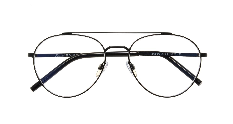 マーシャルアイウェア Mick-Large Opt-Black Velvet MA0036-201200-101 [メタル/丸メガネ]  3