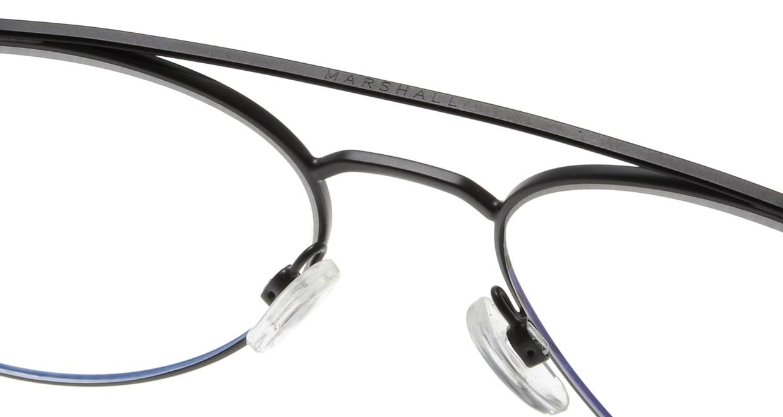 マーシャルアイウェア Mick-Large Opt-Black Velvet MA0036-201200-101 [メタル/丸メガネ]  5