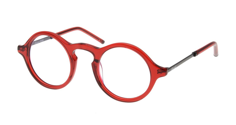 マーシャルアイウェア Bryan Opt-Crimson MA0008-117400-101 [丸メガネ/赤]