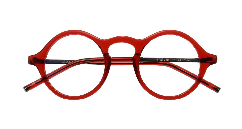 マーシャルアイウェア Bryan Opt-Crimson MA0008-117400-101 [丸メガネ/赤]  3