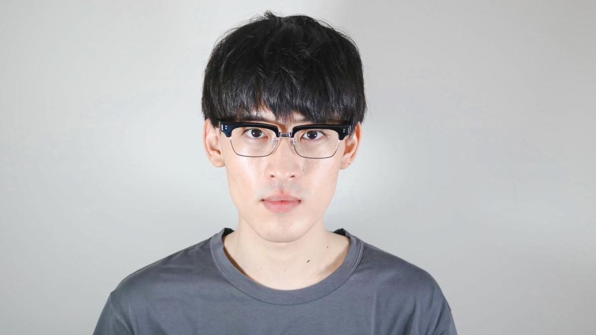 越前國甚六作 甚ノ参 C-1 [黒縁/鯖江産/スクエア]  5