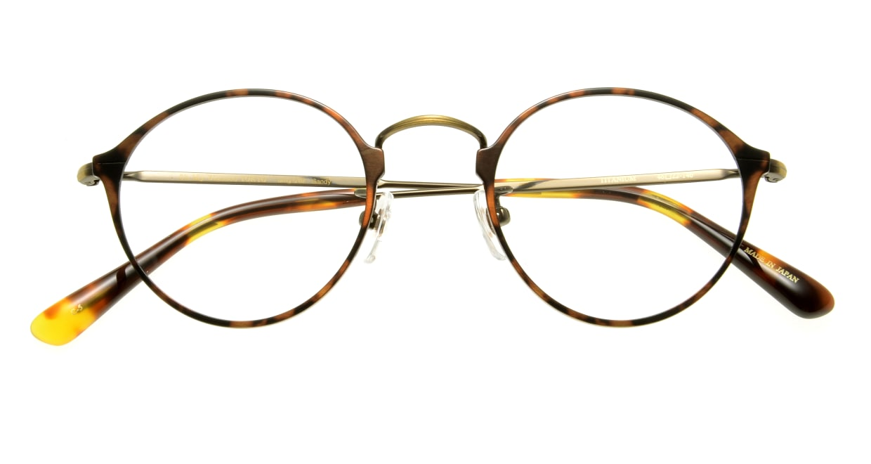 Oh My Glasses TOKYO Sandy omg-046 5-46 [メタル/丸メガネ/べっ甲柄]  3