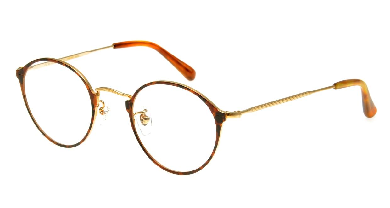 Oh My Glasses TOKYO Sandy omg-046-8-46 [メタル/丸メガネ/べっ甲柄]
