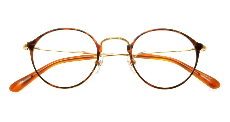 Oh My Glasses TOKYO Sandy omg-046-8-46 [メタル/丸メガネ/べっ甲柄]  3
