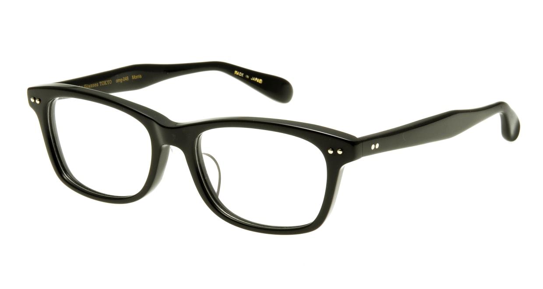 Oh My Glasses TOKYO Morris omg-048 1-53 [黒縁/ウェリントン]