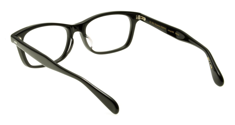 Oh My Glasses TOKYO Morris omg-048 1-53 [黒縁/ウェリントン]  2