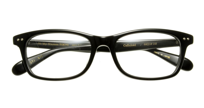 Oh My Glasses TOKYO Morris omg-048 1-53 [黒縁/ウェリントン]  3