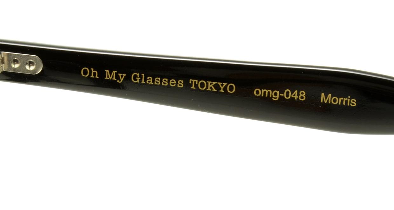 Oh My Glasses TOKYO Morris omg-048 1-53 [黒縁/ウェリントン]  4