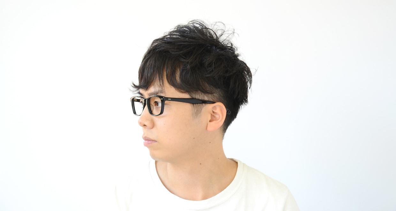 Oh My Glasses TOKYO Morris omg-048 1-53 [黒縁/ウェリントン]  6