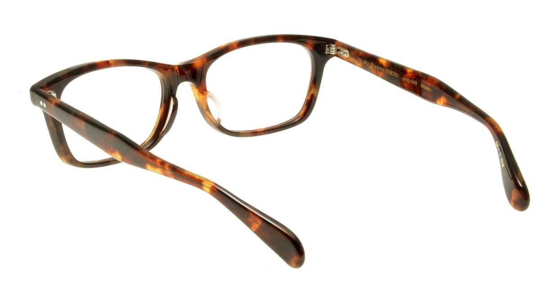 Oh My Glasses TOKYO Morris omg-048-2-53 [ウェリントン/べっ甲柄]  2