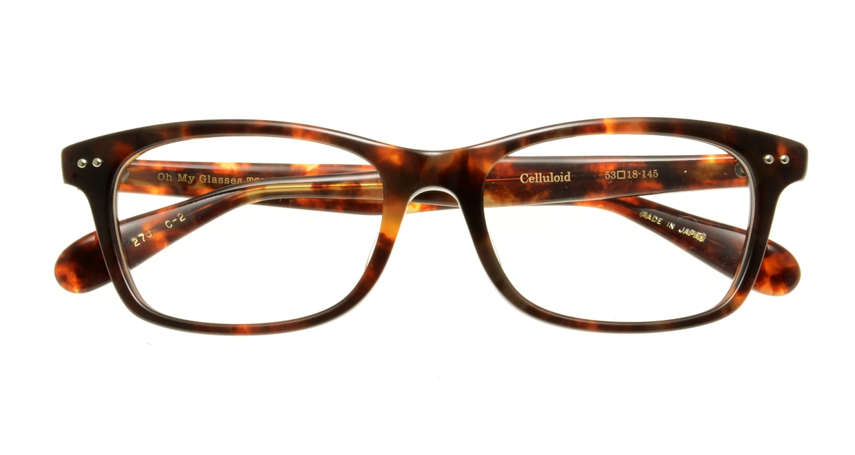 Oh My Glasses TOKYO Morris omg-048-2-53 [ウェリントン/べっ甲柄]  3