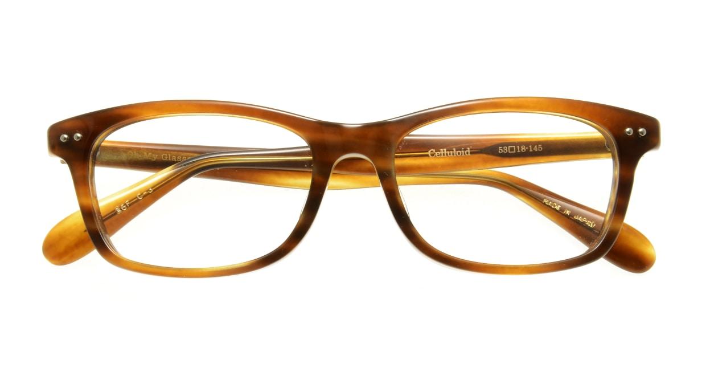 Oh My Glasses TOKYO Morris omg-048 3-53 [ウェリントン/茶色]  3