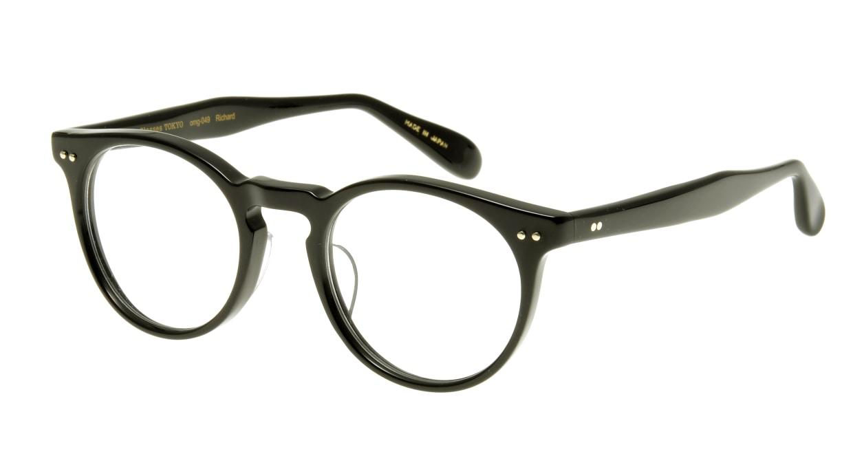 Oh My Glasses TOKYO Richard omg-049 1-48 [黒縁/丸メガネ]