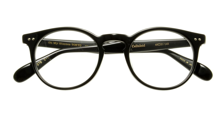 Oh My Glasses TOKYO Richard omg-049 1-48 [黒縁/丸メガネ]  3