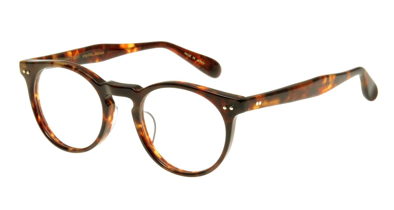Oh My Glasses TOKYO Richard omg-049 2-48 [丸メガネ/べっ甲柄]