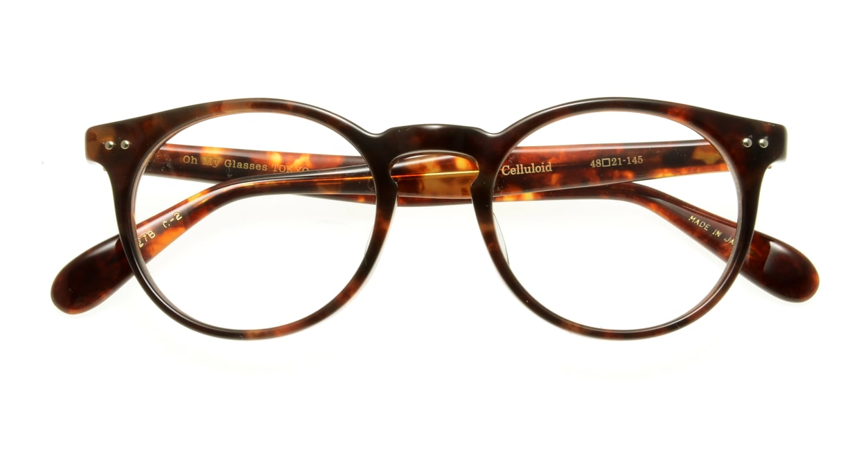 Oh My Glasses TOKYO Richard omg-049-2-48 [丸メガネ/べっ甲柄]  3