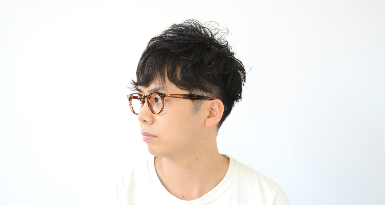 Oh My Glasses TOKYO Richard omg-049 3-48 [丸メガネ/茶色]  7