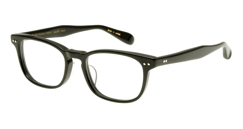Oh My Glasses TOKYO Kevin omg-050 1-50 [黒縁/鯖江産/ウェリントン]