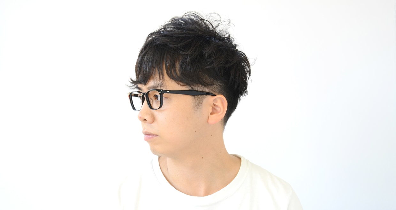 Oh My Glasses TOKYO Kevin omg-050 1-50 [黒縁/鯖江産/ウェリントン]  6