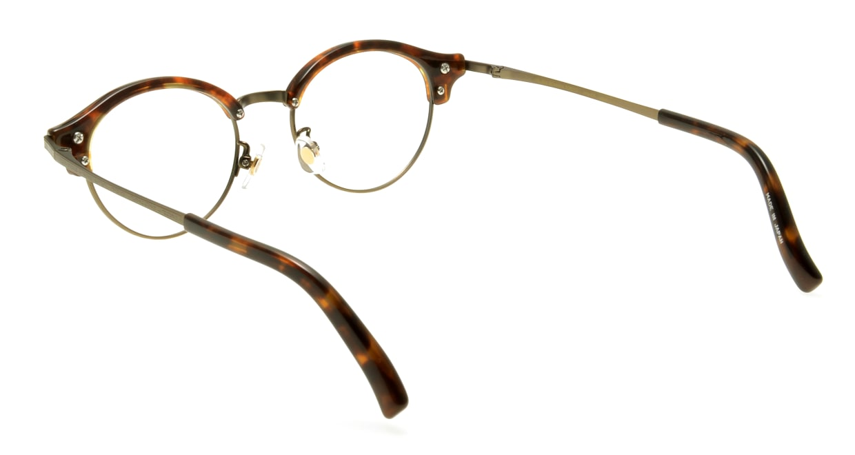Oh My Glasses TOKYO Adam omg-051 4-47 [鯖江産/丸メガネ/べっ甲柄]  2