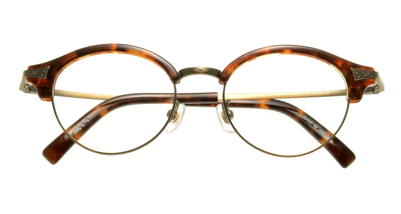Oh My Glasses TOKYO Adam omg-051 4-47 [鯖江産/丸メガネ/べっ甲柄]  3