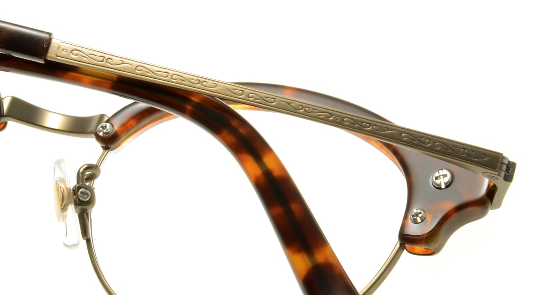 Oh My Glasses TOKYO Adam omg-051-4-47 [鯖江産/丸メガネ/べっ甲柄]  4