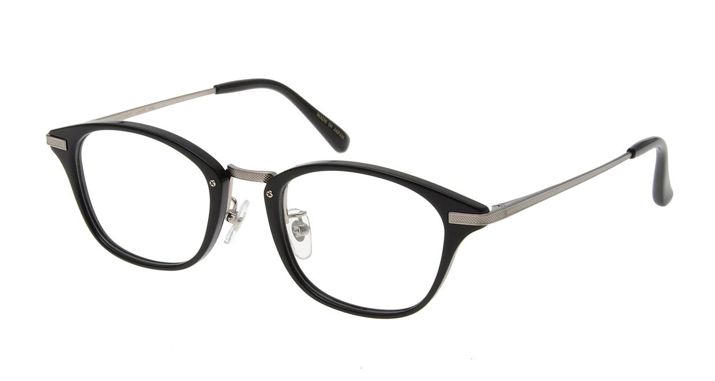Oh My Glasses TOKYO Philip omg-054-1-48 [黒縁/鯖江産/ウェリントン]