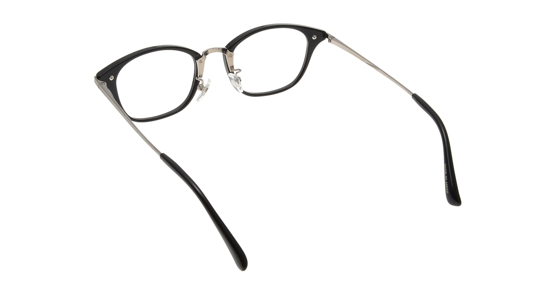 Oh My Glasses TOKYO Philip omg-054-1-48 [黒縁/鯖江産/ウェリントン]  2