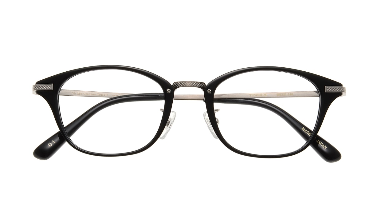 Oh My Glasses TOKYO Philip omg-054-1-48 [黒縁/鯖江産/ウェリントン]  3