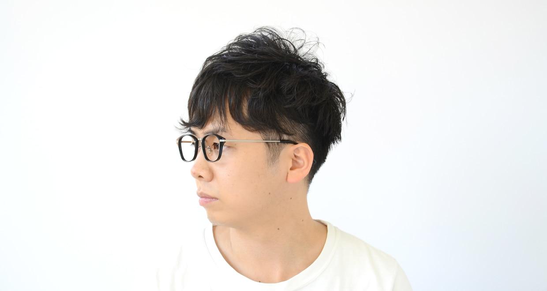 Oh My Glasses TOKYO Philip omg-054-1-48 [黒縁/鯖江産/ウェリントン]  7