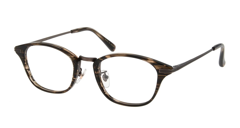 Oh My Glasses TOKYO Philip omg-054 3-48 [鯖江産/ウェリントン/茶色]
