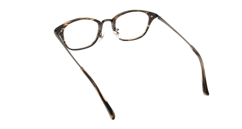 Oh My Glasses TOKYO Philip omg-054 3-48 [鯖江産/ウェリントン/茶色]  2