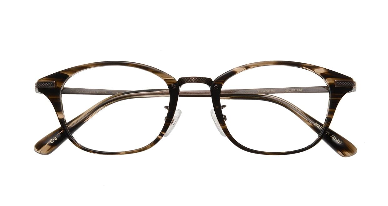 Oh My Glasses TOKYO Philip omg-054 3-48 [鯖江産/ウェリントン/茶色]  3