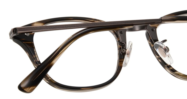 Oh My Glasses TOKYO Philip omg-054 3-48 [鯖江産/ウェリントン/茶色]  4