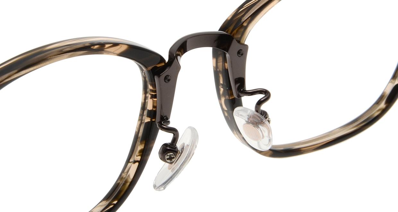 Oh My Glasses TOKYO Philip omg-054 3-48 [鯖江産/ウェリントン/茶色]  6