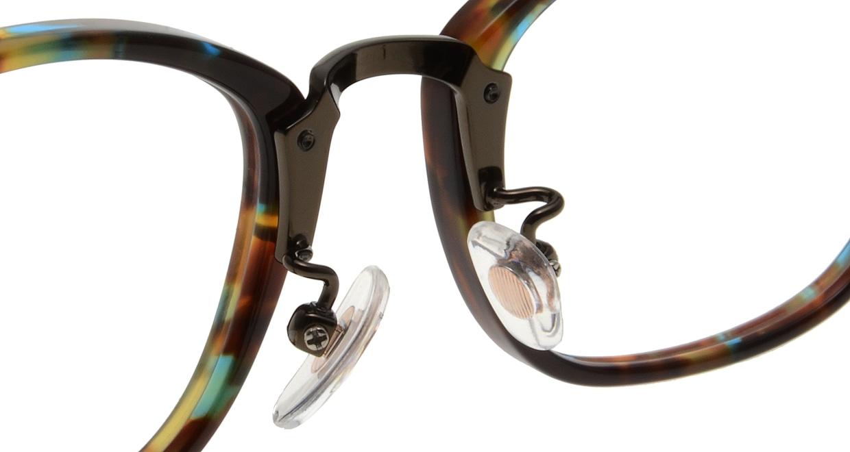 Oh My Glasses TOKYO Philip omg-054 4-48 [鯖江産/ウェリントン/派手]  6