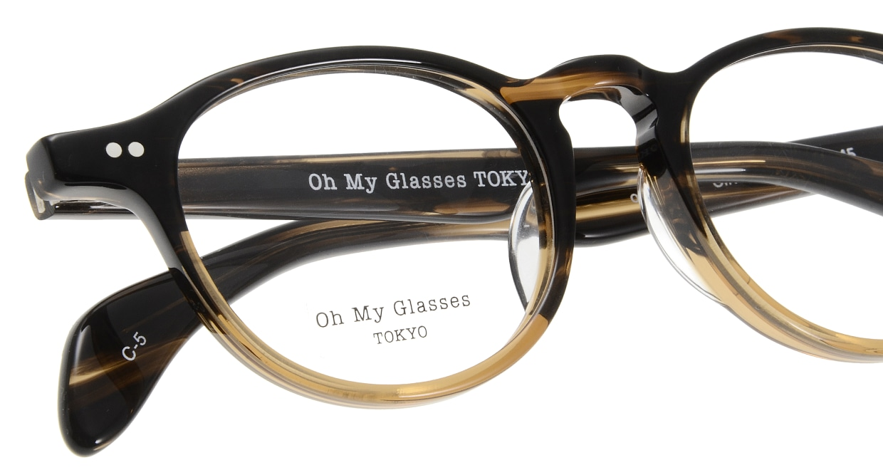 Oh My Glasses TOKYO Oliver omg-006 5-47 [鯖江産/丸メガネ/茶色]  4