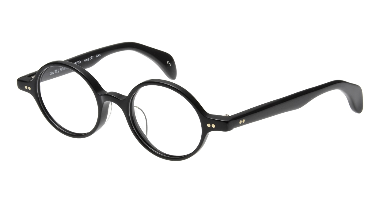 Oh My Glasses TOKYO Alex omg-007 1-45 [黒縁/鯖江産/丸メガネ]