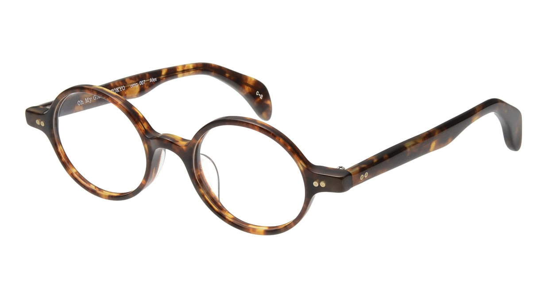 Oh My Glasses TOKYO Alex omg-007 2-45 [鯖江産/丸メガネ/べっ甲柄]