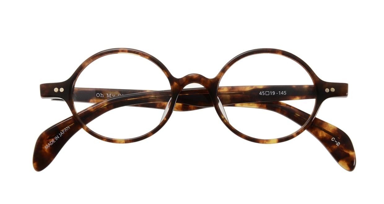 Oh My Glasses TOKYO Alex omg-007 2-45 [鯖江産/丸メガネ/べっ甲柄]  3