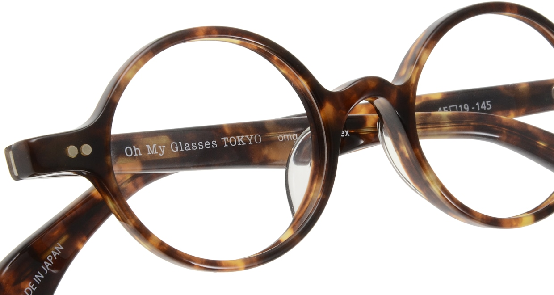 Oh My Glasses TOKYO Alex omg-007 2-45 [鯖江産/丸メガネ/べっ甲柄]  4