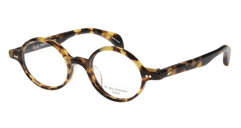 Oh My Glasses TOKYO Alex omg-007 4-45 [鯖江産/丸メガネ/べっ甲柄]