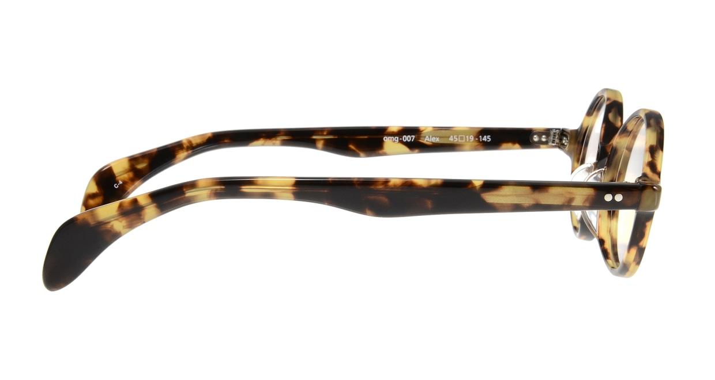 Oh My Glasses TOKYO Alex omg-007 4-45 [鯖江産/丸メガネ/べっ甲柄]  1